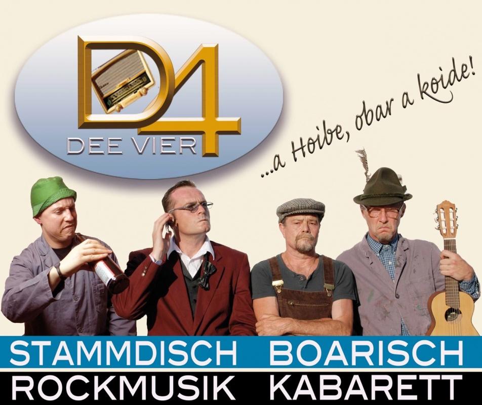 Dee Vier - Rockkabarett auf Bayrisch
