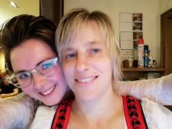 Kathi und Carola